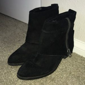 Mossimo Leather Upper Boots